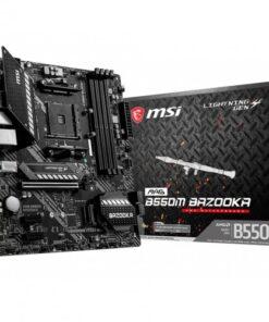 MSI MAG B550M BAZOOKA AM4 Micro ATX AMD Motherboard